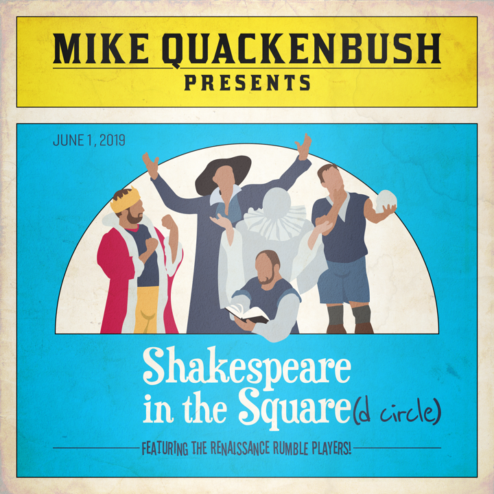 Shakespeare in the Square(d Circle)
