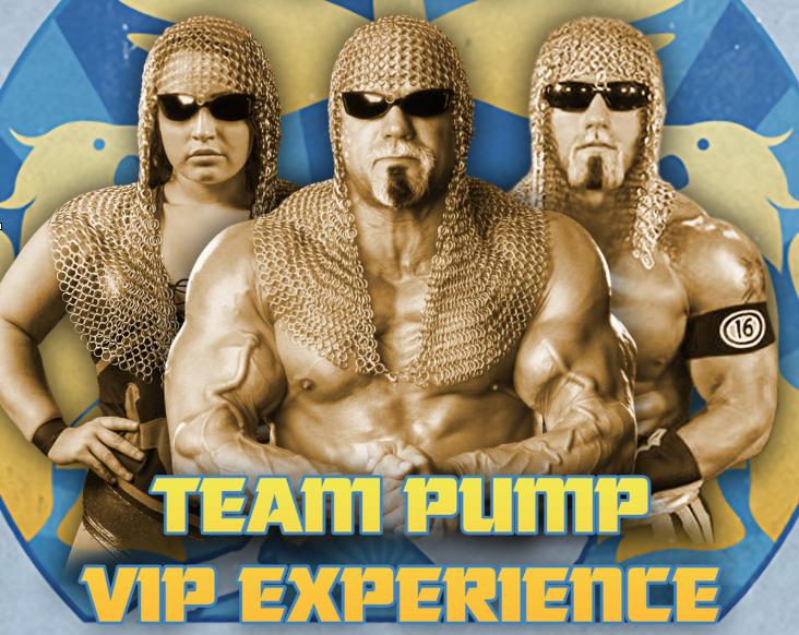 Team PUMP VIP Experience